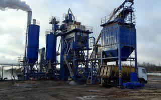 В Костроме появилась современная асфальтосмесительная установка КДМ2013