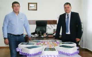 Директор компании «СДС» побывал на праздновании юбилея президента ЧАО «Кредмаш» Николая Данилейко