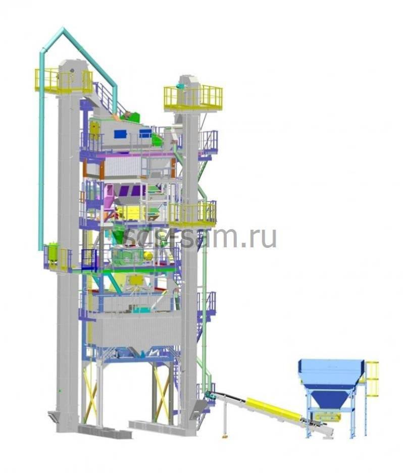 асфальтосмесительная установка 64 тонн/час