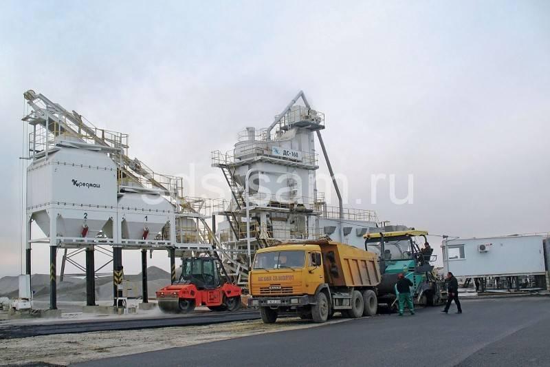 асфальтосмесительная установка 160 тонн/час