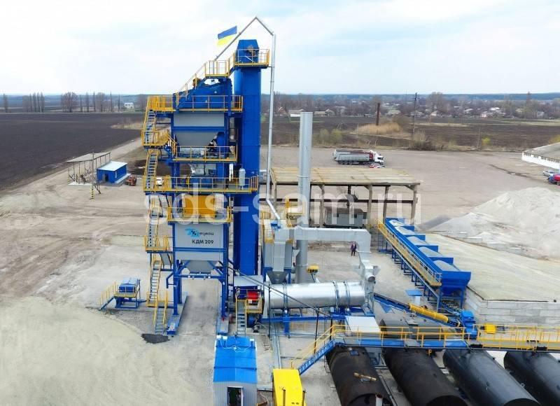 асфальтосмесительная установка 110 тонн/час