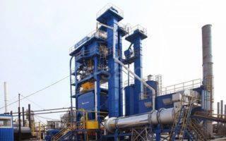 В Волгограде запустили новый асфальтобетонный завод