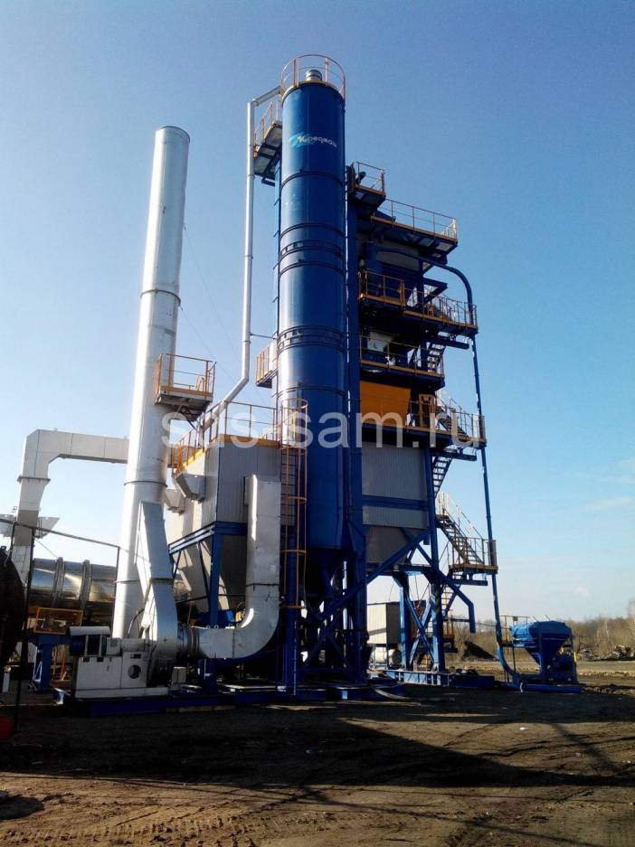 асфальтосмесительная установка 80 тонн/час