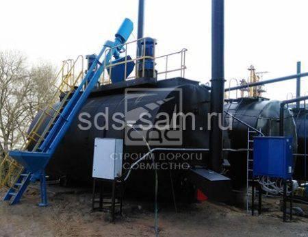 агрегат модификации битума бетонного завода