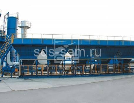 бункер питатель для бетонного завода