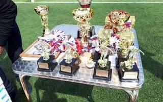 Руководство ООО «СДС» на финале детского футбольного турнира памяти сотрудников ОВД