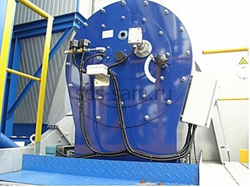 топочный агрегат для бетонного завода