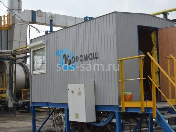 кабина управления бетонного завода