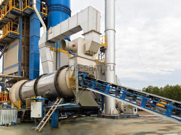 ленточный транспортер для бетонного завода