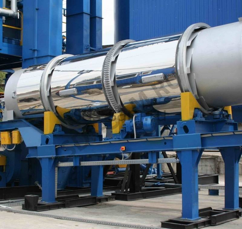 сушильный агрегат для бетонного завода