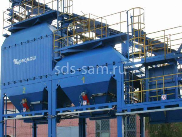 рукавные фильтры для бетонного завода