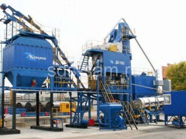 Асфальтобетонный завод ДС 185У – 64 тонн/час